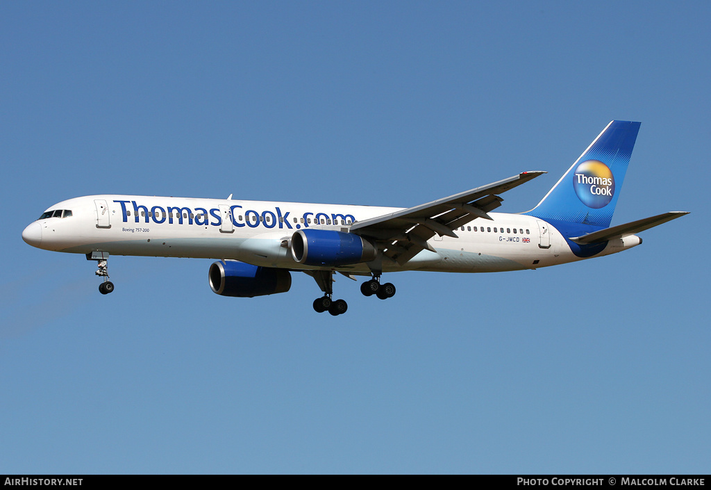 Aircraft Photo of G-JMCD | Boeing 757-25F | Thomas Cook Airlines | AirHistory.net #86125