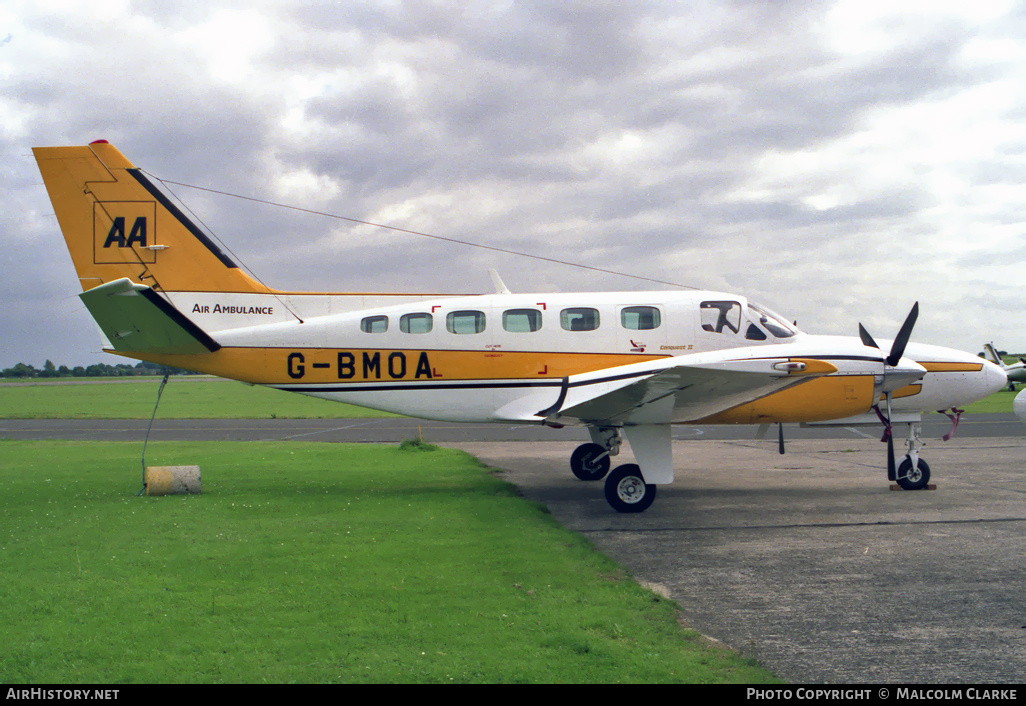 Aircraft Photo of G-BMOA | Cessna 441 Conquest | Automobile Association - AA | AirHistory.net #86153