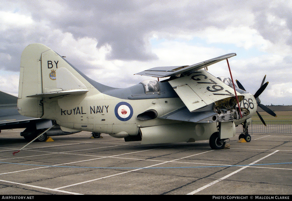 Aircraft Photo of XG797 | Fairey Gannet ECM.6 | UK - Navy | AirHistory.net #86390