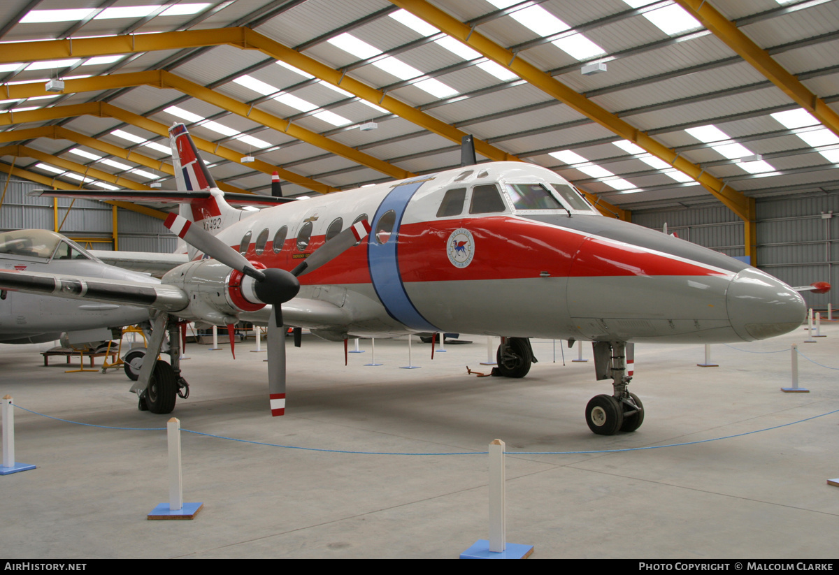 Aircraft Photo of XX492 | Scottish Aviation HP-137 Jetstream T1 | UK - Air Force | AirHistory.net #86400