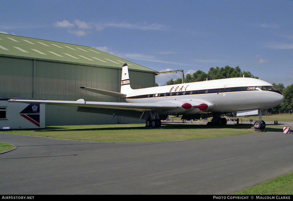 Aircraft Photo of G-APAS | De Havilland D.H. 106 Comet 1XB | BOAC | AirHistory.net #86582