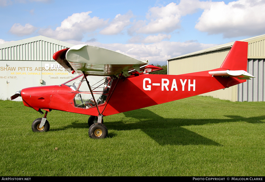 Aircraft Photo of G-RAYH | Zenair STOL CH-701 UL | AirHistory.net #86723