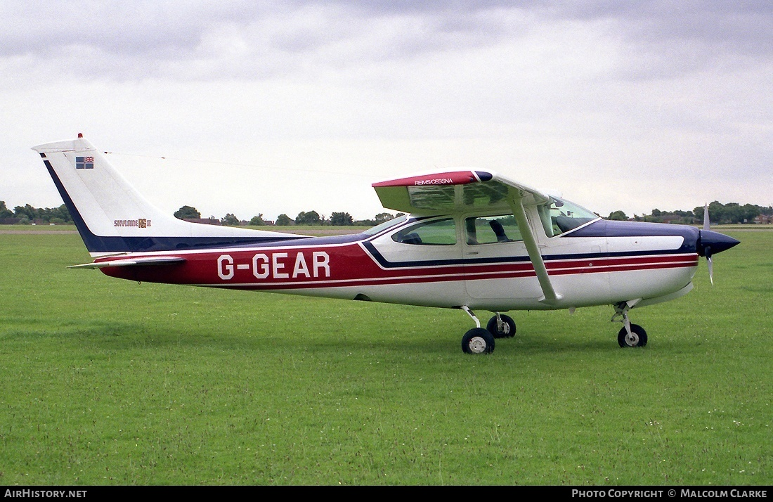 Aircraft Photo of G-GEAR | Reims FR182 Skylane RG | AirHistory.net #86795