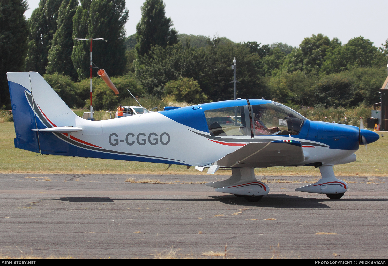 Aircraft Photo of G-CGGO | Robin DR-400-180 Regent | AirHistory.net #86831