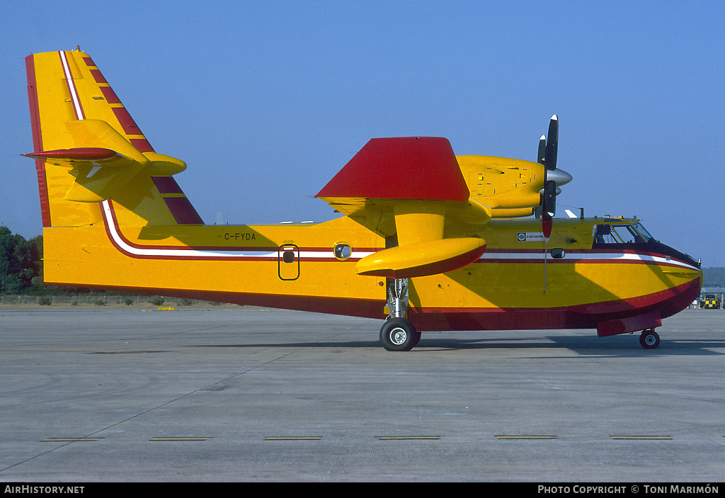 Aircraft Photo of C-FYDA | Canadair CL-415 (CL-215-6B11) | AirHistory.net #87131