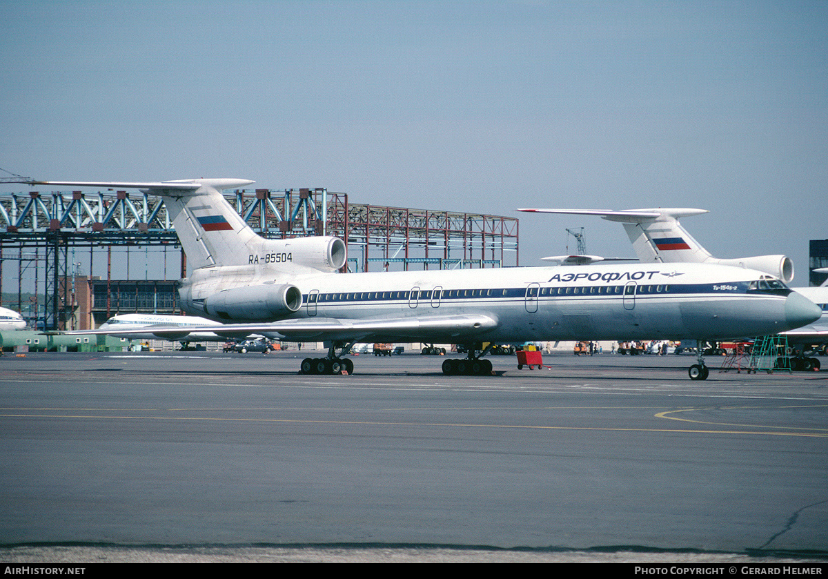 Aircraft Photo of RA-85504 | Tupolev Tu-154B-2 | Aeroflot | AirHistory.net #87192