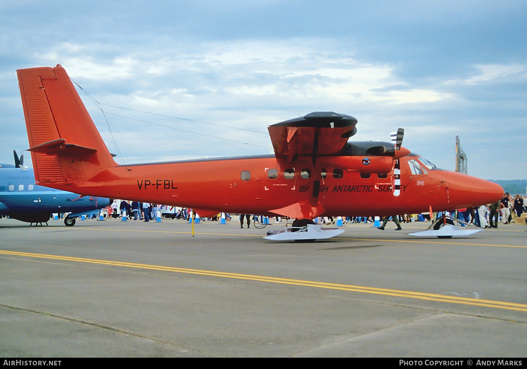 Aircraft Photo of VP-FBL | De Havilland Canada DHC-6-300 Twin Otter | British Antarctic Survey | AirHistory.net