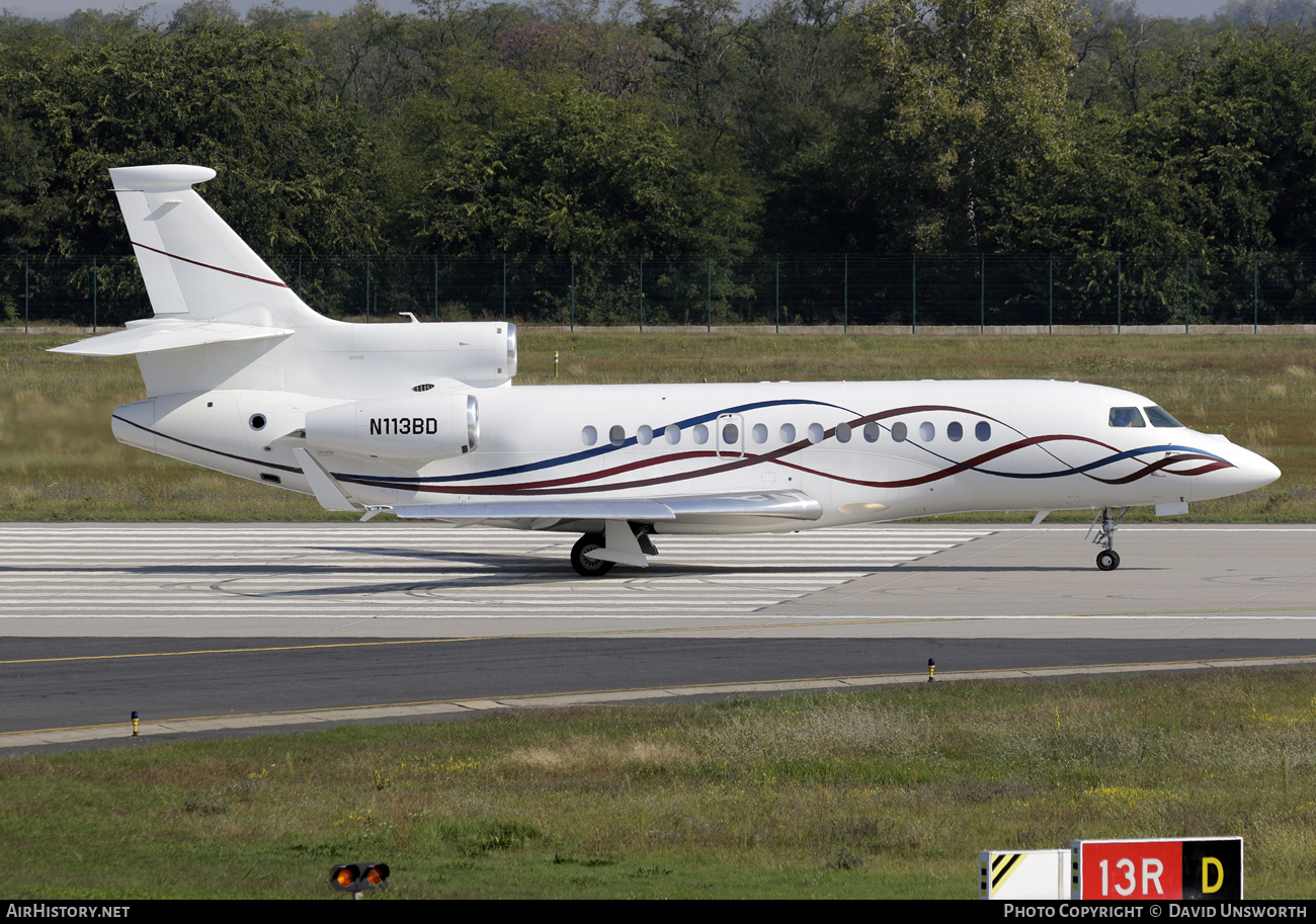 Aircraft Photo of N113BD | Dassault Falcon 7X | AirHistory.net