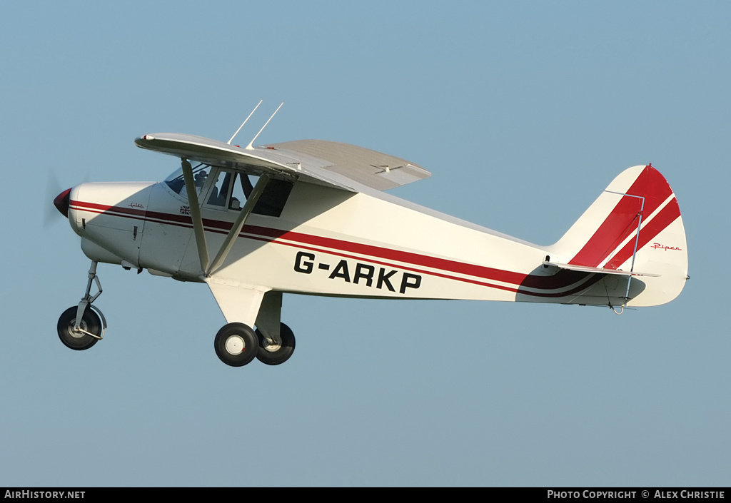 Aircraft Photo of G-ARKP | Piper PA-22-108 Colt | AirHistory net