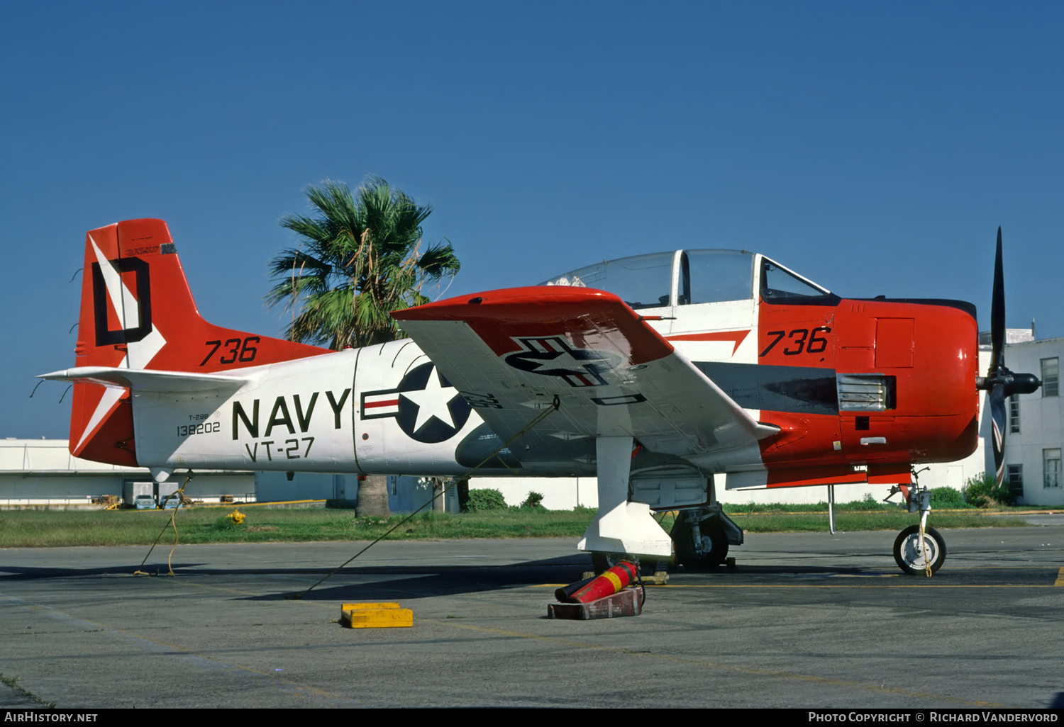 Aircraft Photo of 138202 | North American T-28B Trojan | USA - Navy | AirHistory.net