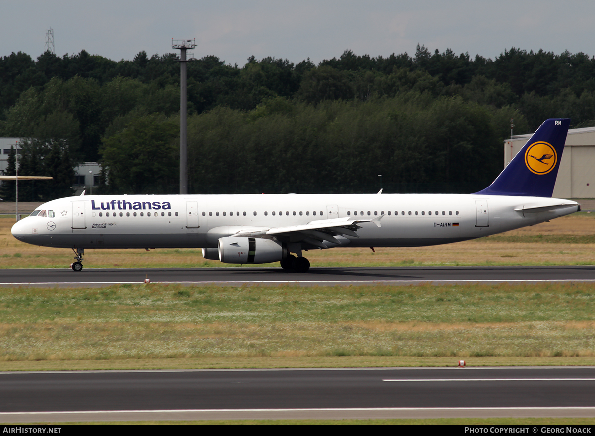 Aircraft Photo of D-AIRM | Airbus A321-131 | Lufthansa | AirHistory.net