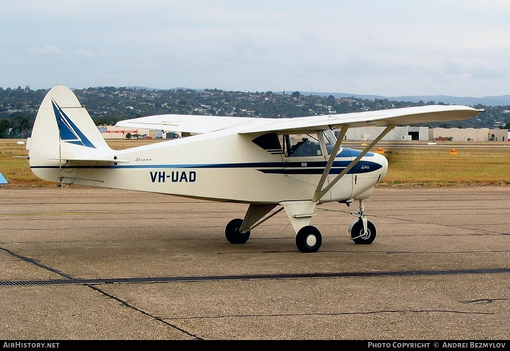 Aircraft Photo of VH-UAD | Piper PA-22-108 Colt | AirHistory net
