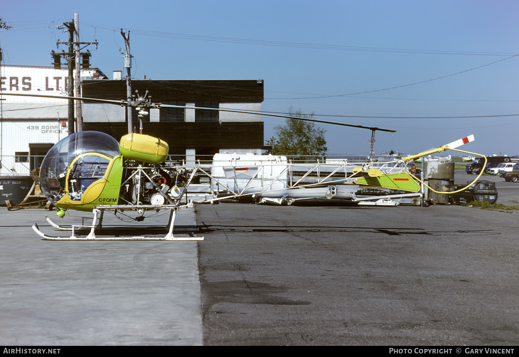 Aircraft Photo of C-FQFM | Bell 47G-3B-2 | Northern Mountain Helicopters | AirHistory.net