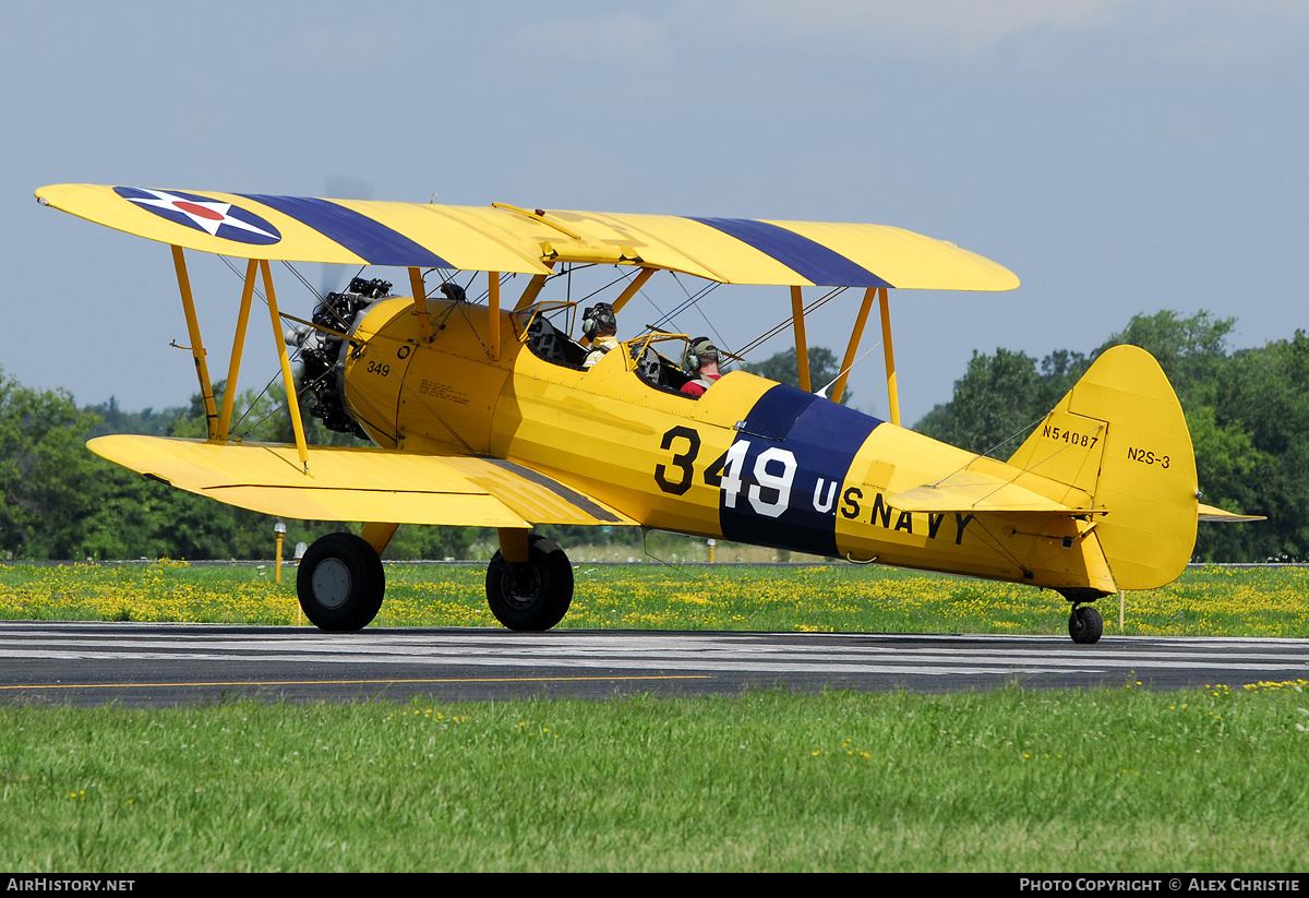 Aircraft Photo of N54087 | Stearman N2S-1 Kaydet (A75N1
