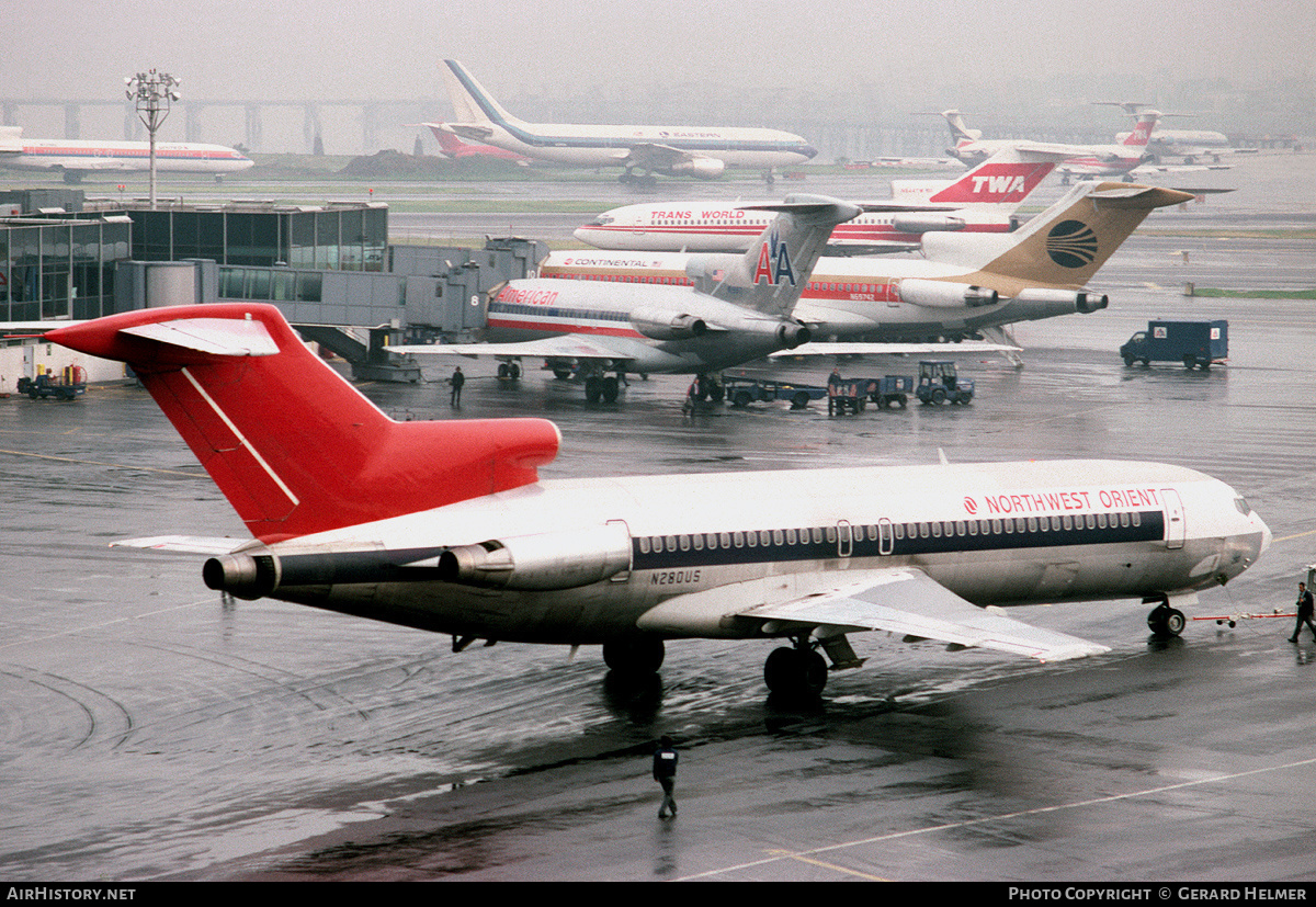 Aircraft Photo of N280US | Boeing 727-251/Adv | Northwest Orient Airlines | AirHistory.net #99026