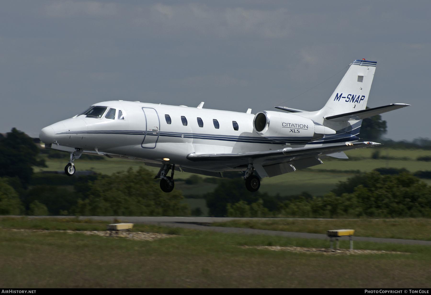 Aircraft Photo Of M Snap Cessna 560xl Citation Xls