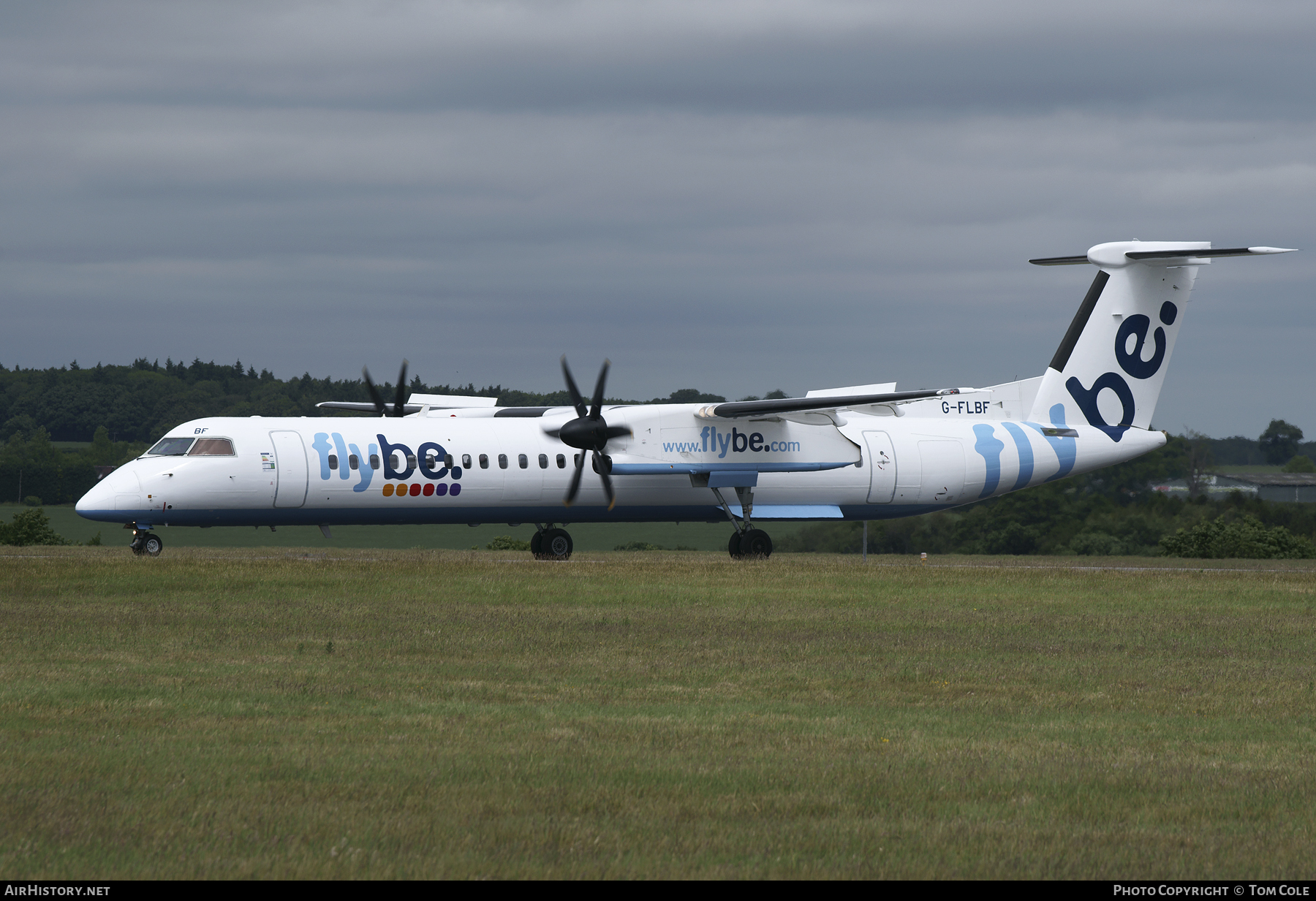 Aircraft Photo of G-FLBF | Bombardier DHC-8-402 | Flybe | AirHistory.net #102615