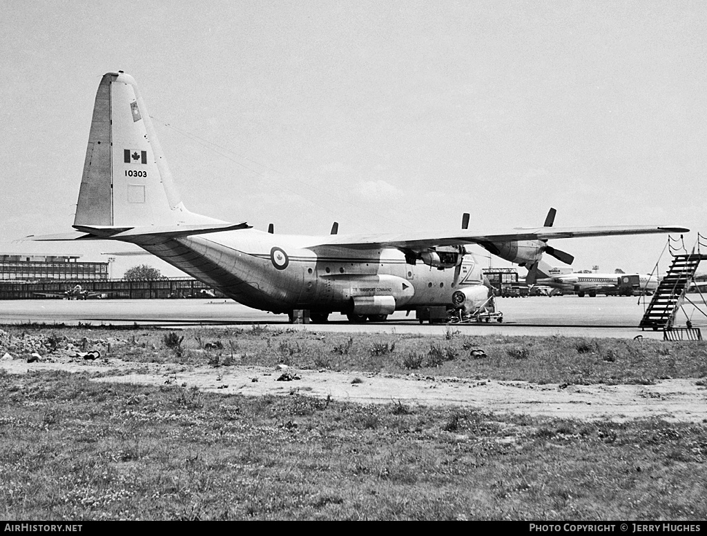 Aircraft Photo of 10303 | Lockheed CC-130B Hercules | Canada - Air Force | AirHistory.net #103522