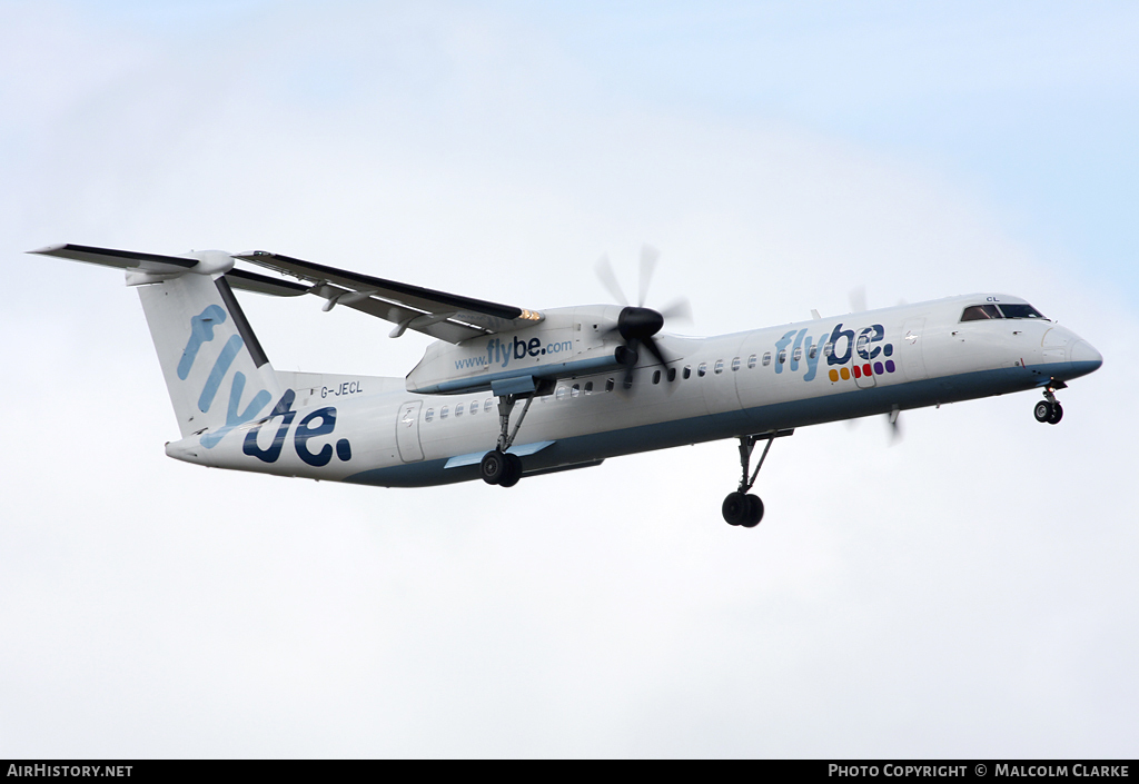 Aircraft Photo of G-JECL | Bombardier DHC-8-402 | Flybe | AirHistory.net #103651