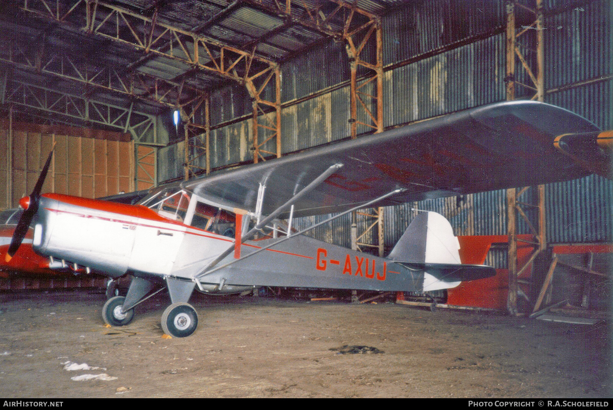 Aircraft Photo of G-AXUJ | Auster J-1 Autocrat | AirHistory.net #103801