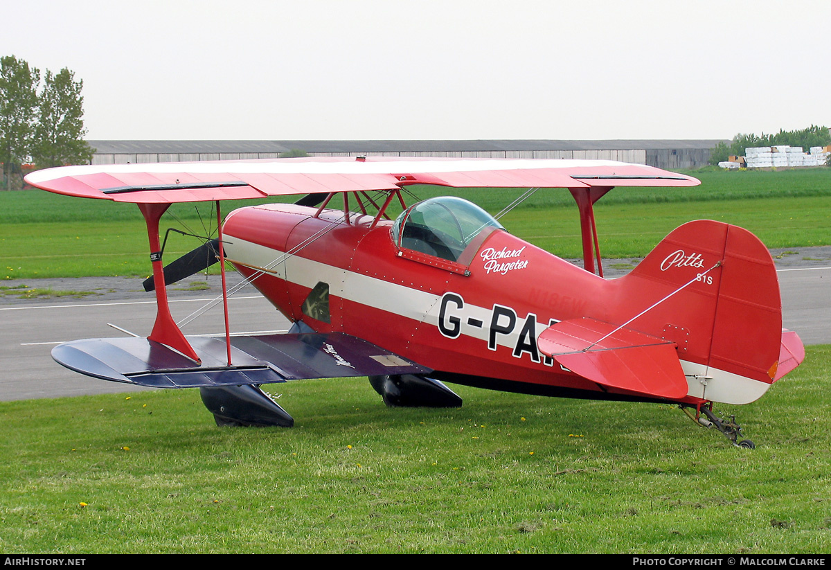 Aircraft Photo of G-PARG | Pitts S-1S Special | AirHistory.net #103981