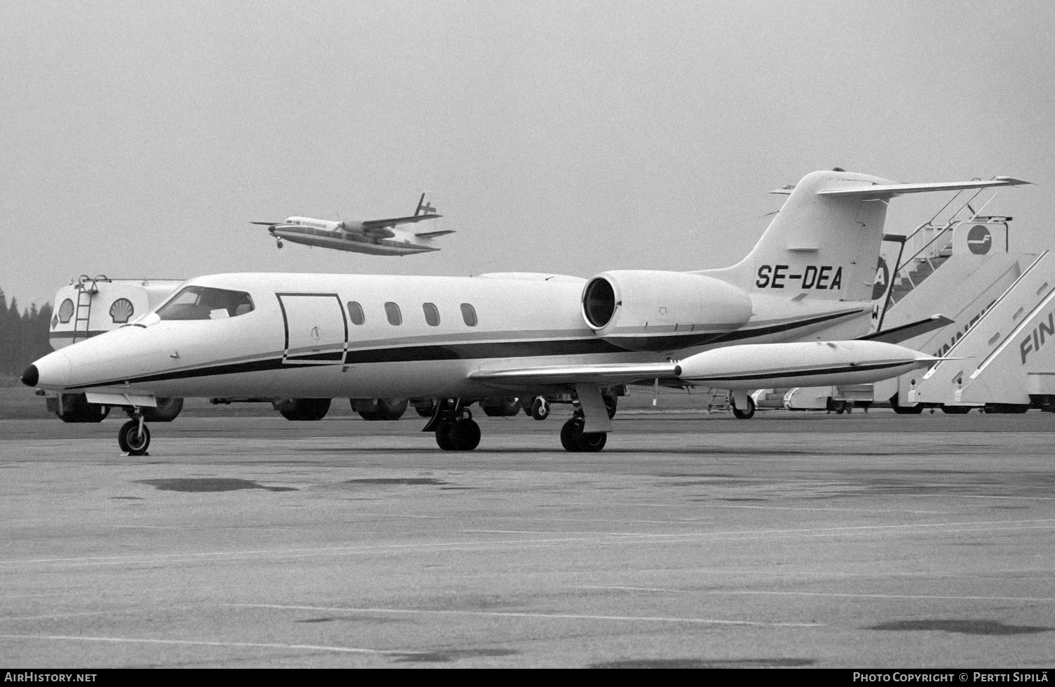Aircraft Photo of SE-DEA | Gates Learjet 35 | AirHistory.net