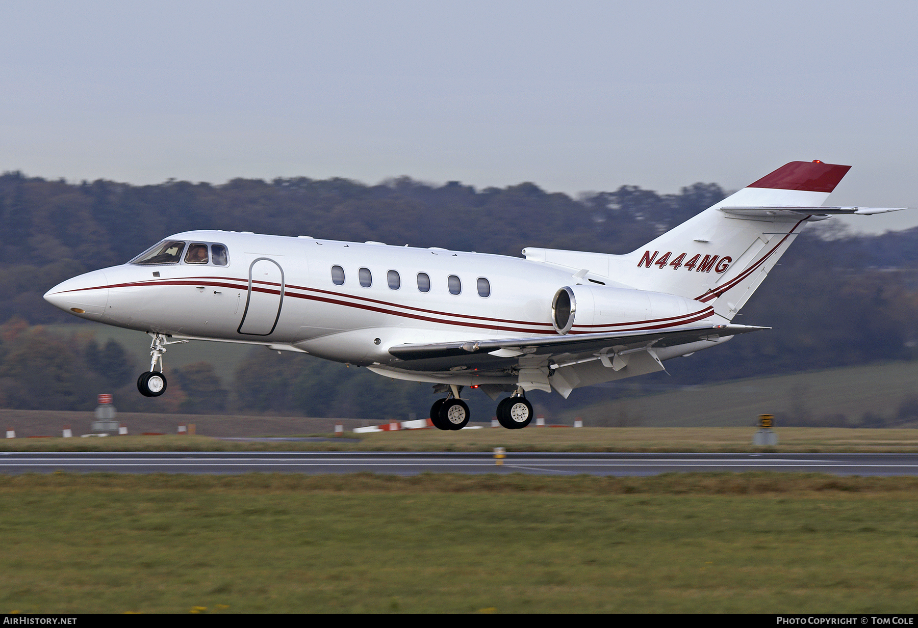 Aircraft Photo of N444MG | Hawker Beechcraft 800XP | AirHistory.net
