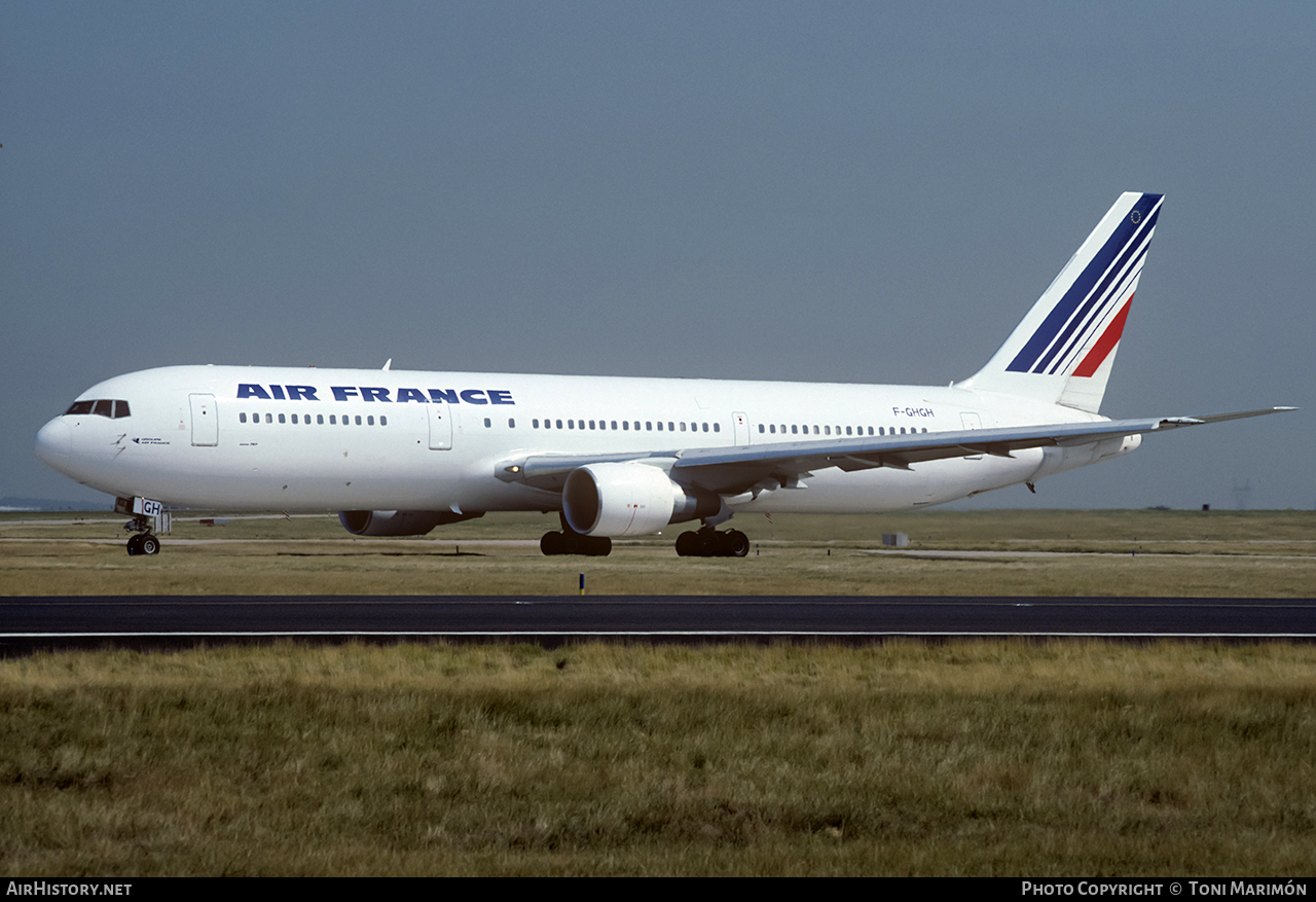 Aircraft Photo of F-GHGH | Boeing 767-375/ER | Air France | AirHistory.net #106409