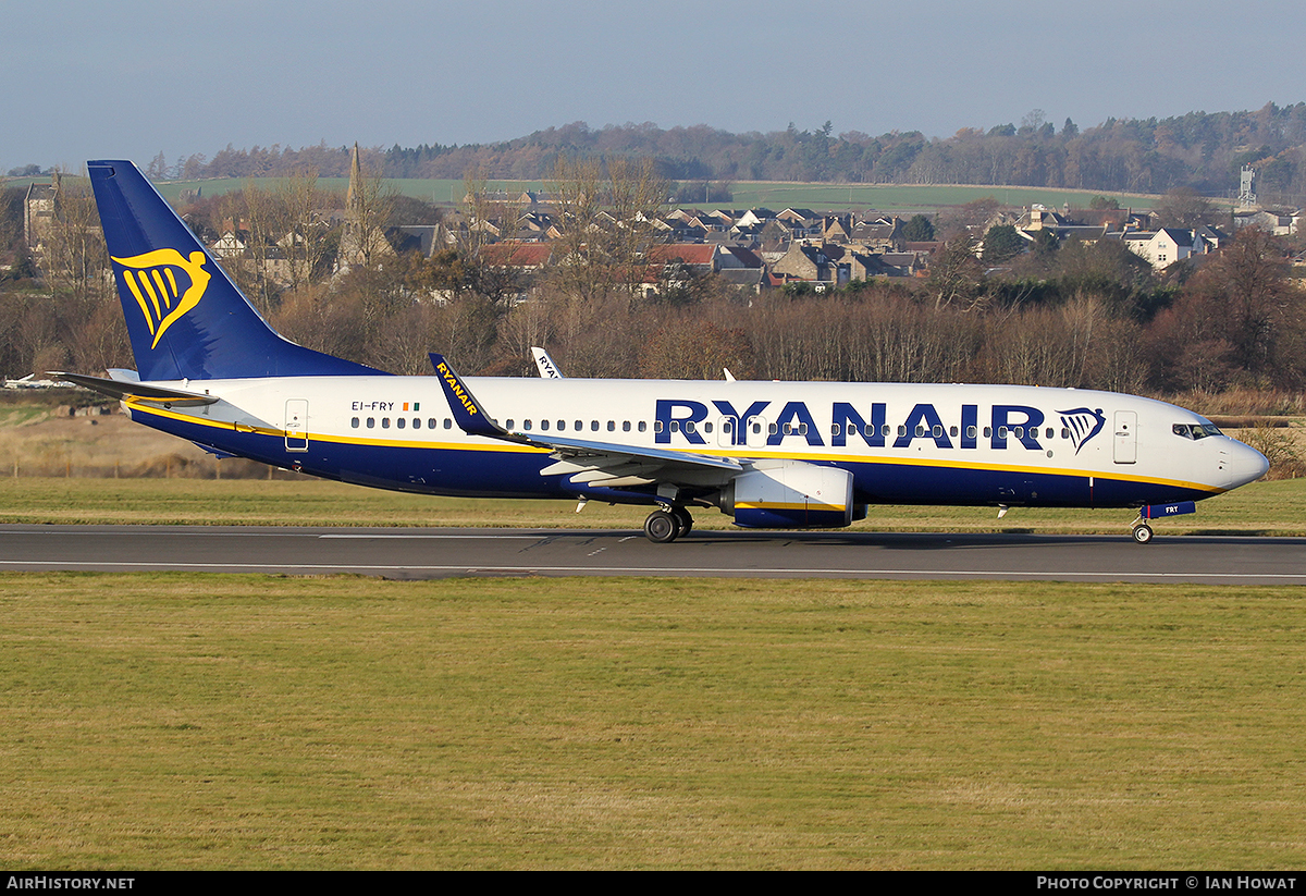 Aircraft Photo of EI-FRY | Boeing 737-8AS | Ryanair | AirHistory.net #106473