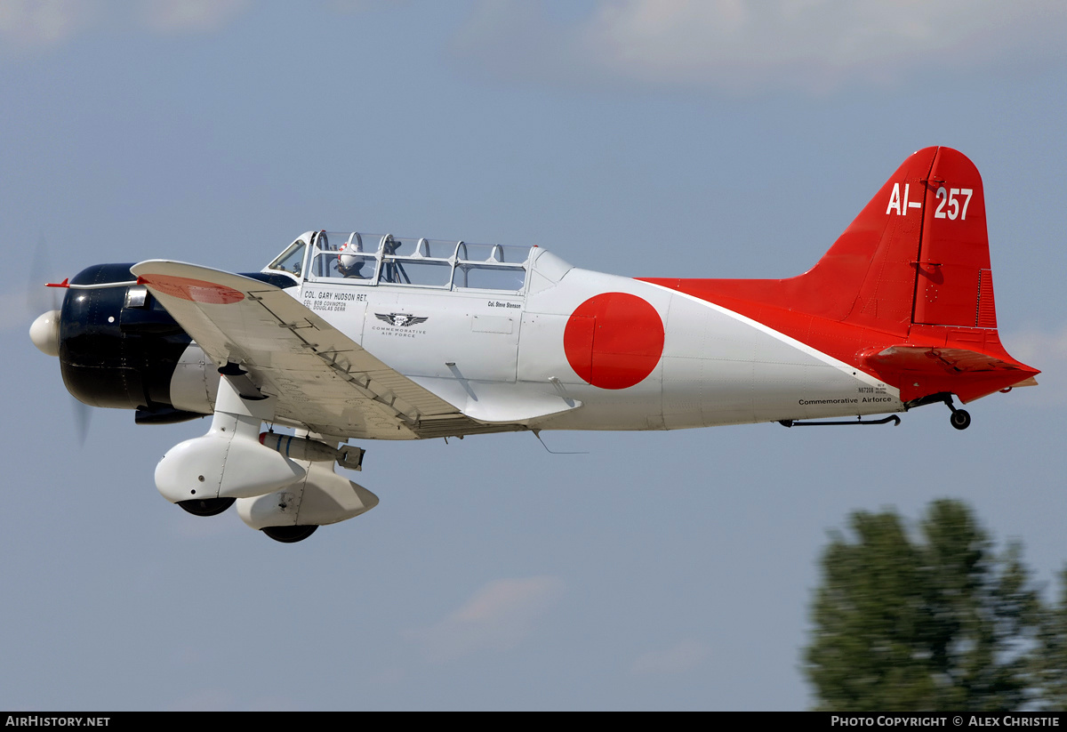 Aircraft Photo of N67208 / AI-257 | Vultee BT-13A/Aichi D3A Replica | Commemorative Air Force | Japan - Navy | AirHistory.net