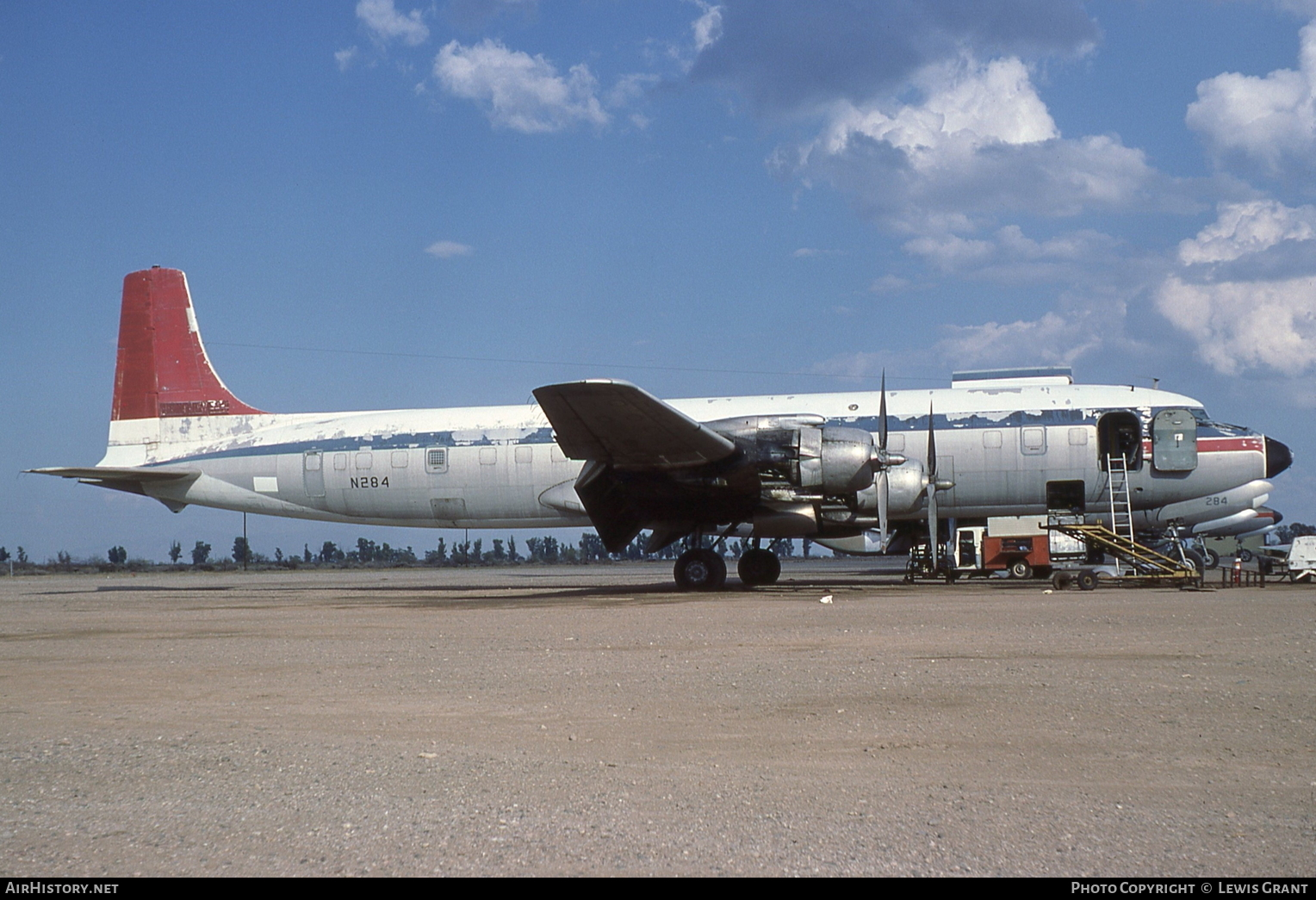 Aircraft Photo of N284 | Douglas DC-7C(F) Seven Seas | T & G Aviation | AirHistory.net