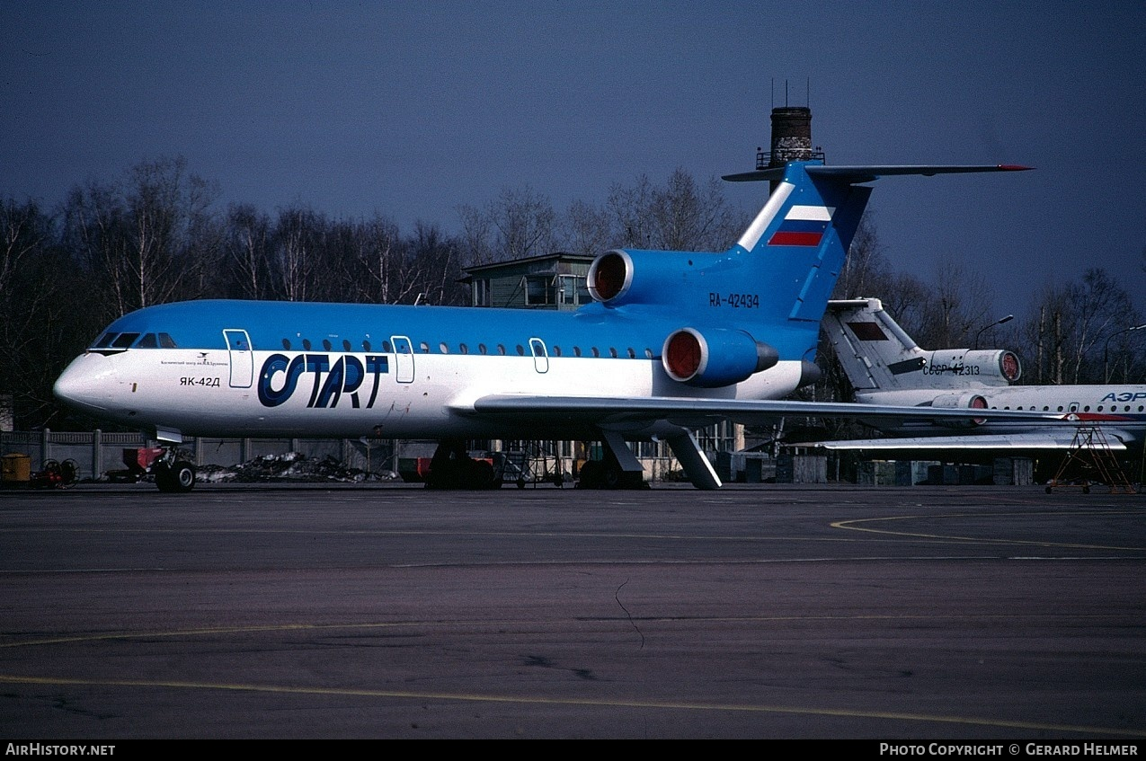 Aircraft Photo of RA-42434 | Yakovlev Yak-42D | Start | AirHistory.net