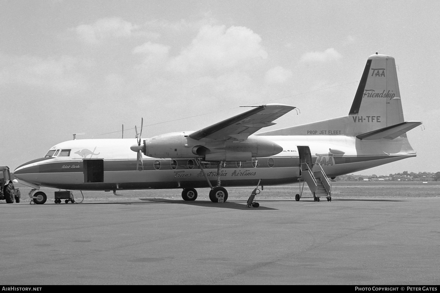 Aircraft Photo of VH-TFE | Fokker F27-100 Friendship | Trans-Australia Airlines - TAA | AirHistory.net #107795