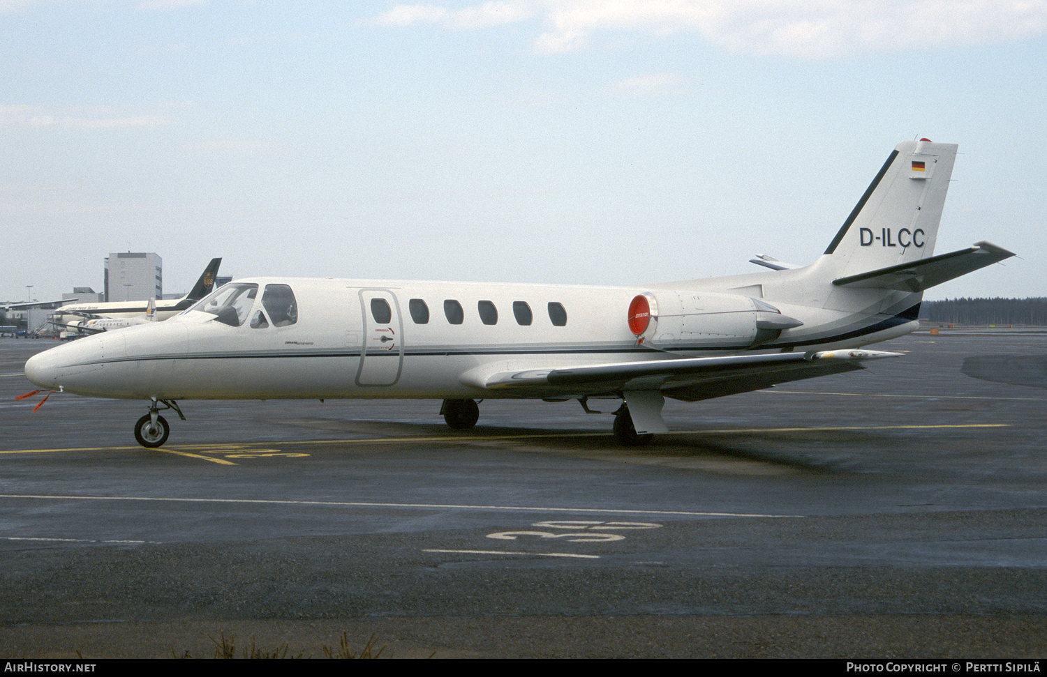 Aircraft Photo of D-ILCC | Cessna 551 Citation II/SP | AirHistory.net