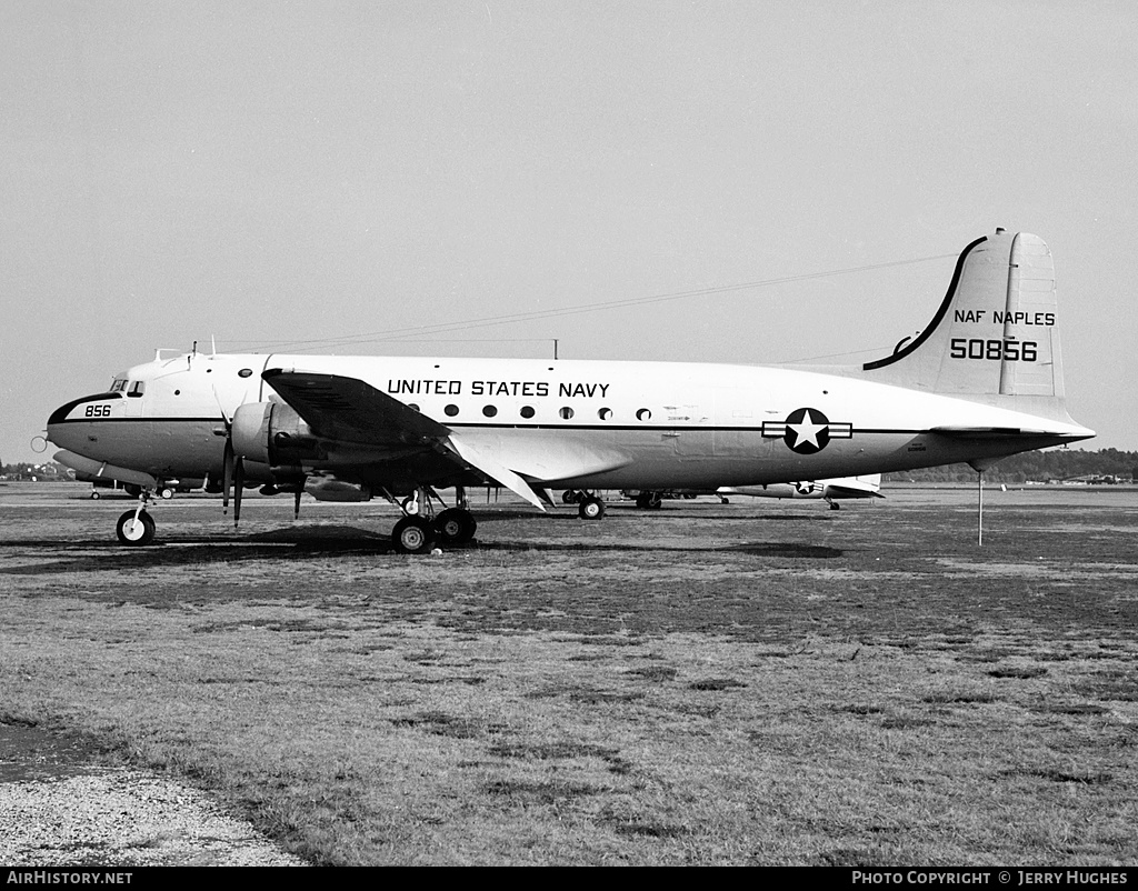Aircraft Photo of 50856 | Douglas R5D-2 Skymaster | USA - Navy | AirHistory.net #109028