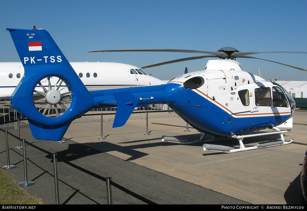Aircraft Photo of PK-TSS | Eurocopter EC-135P-2 | AirHistory.net