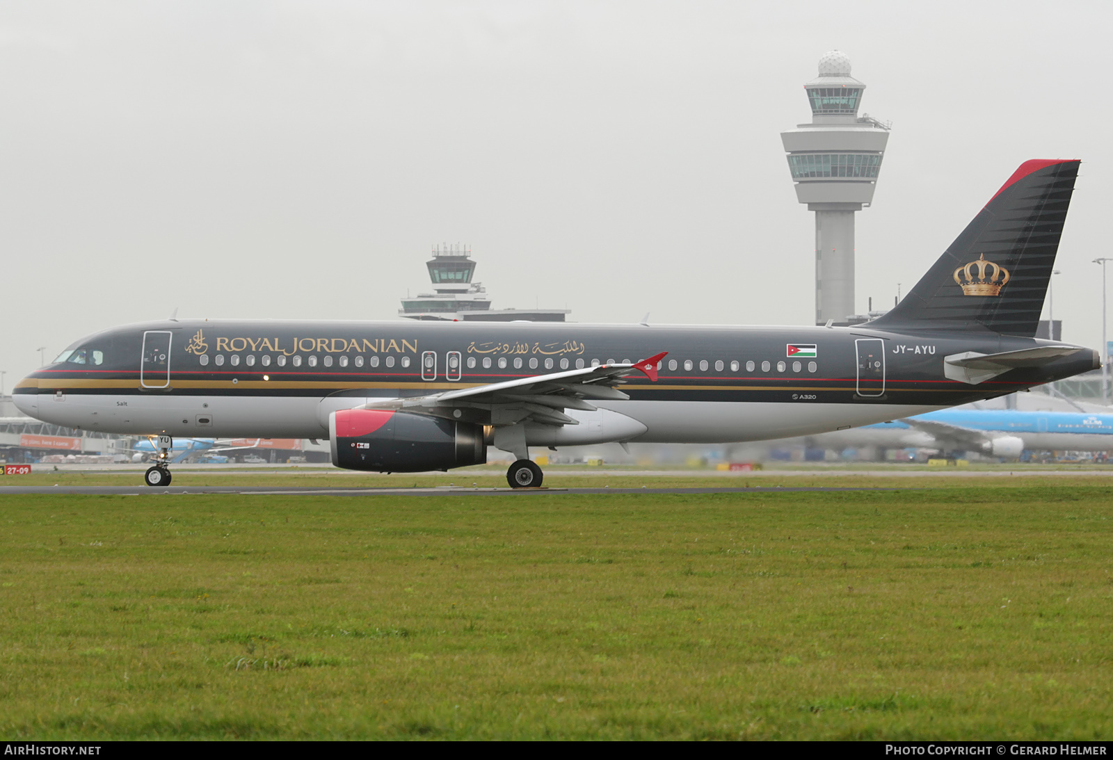 Aircraft Photo of JY-AYU | Airbus A320-232 | Royal Jordanian Airline | AirHistory.net