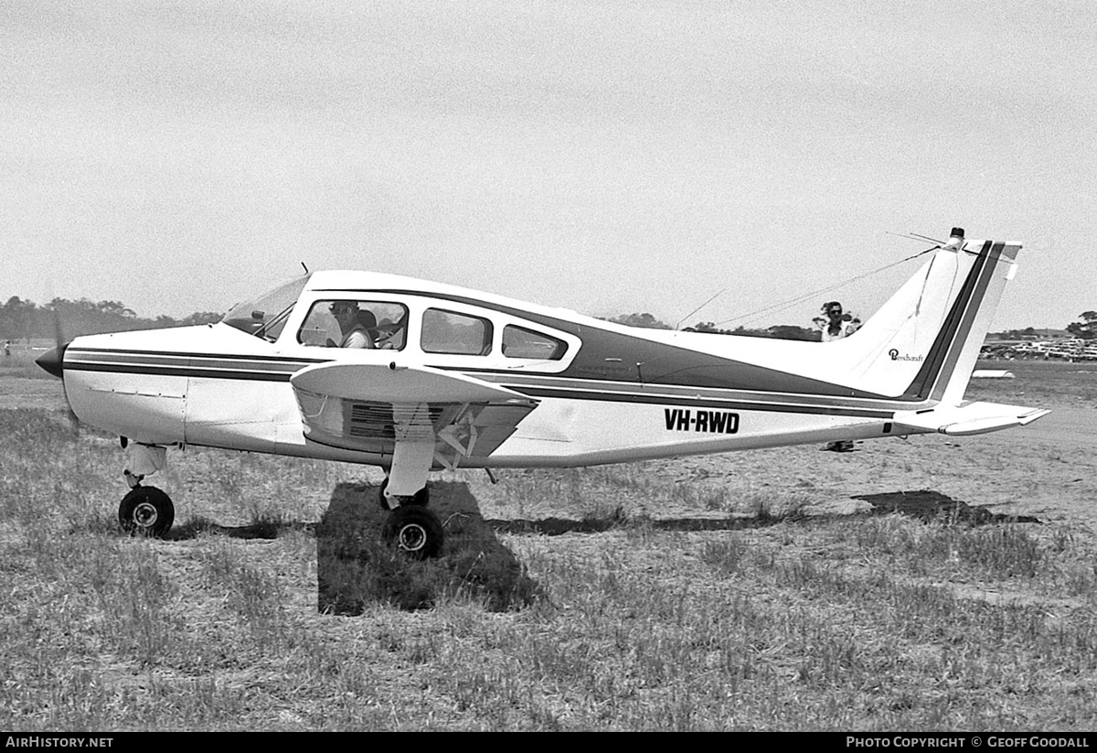 Aircraft Photo of VH-RWD | Beech A23A Musketeer Custom 3 | AirHistory.net #112034