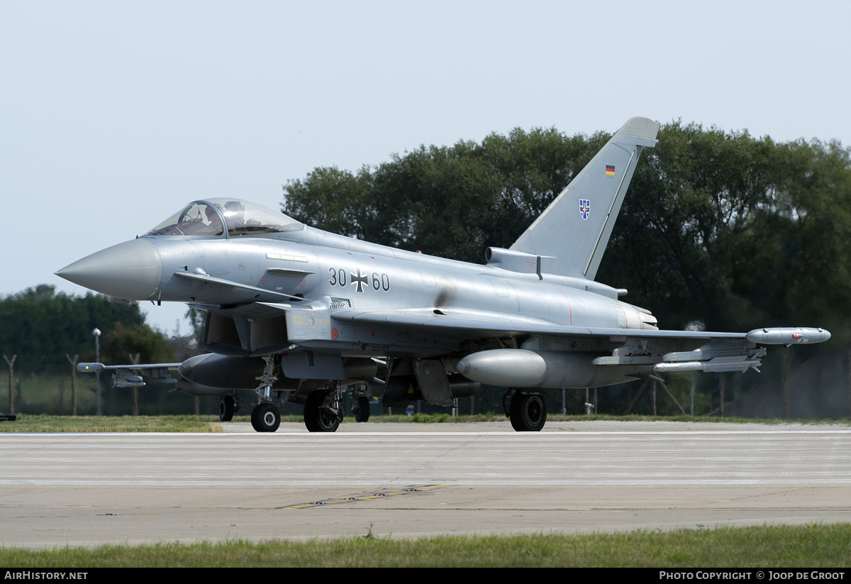 Aircraft Photo of 3060 | Eurofighter EF-2000 Typhoon S | Germany - Air Force | AirHistory.net