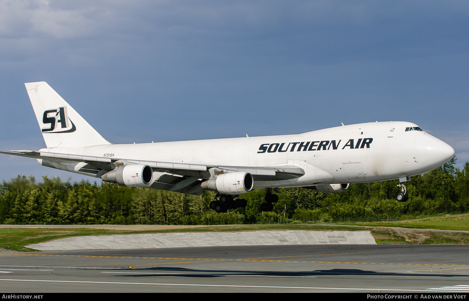 Aircraft Photo of N751SA | Boeing 747-228F/SCD | Southern Air | AirHistory.net