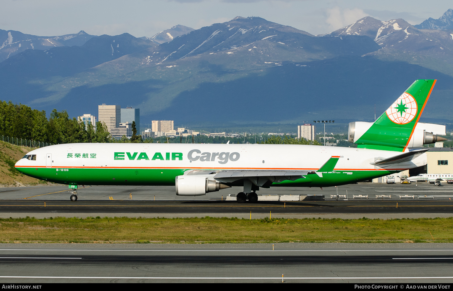 Aircraft Photo of B-16109 | McDonnell Douglas MD-11F | EVA Air Cargo | AirHistory.net