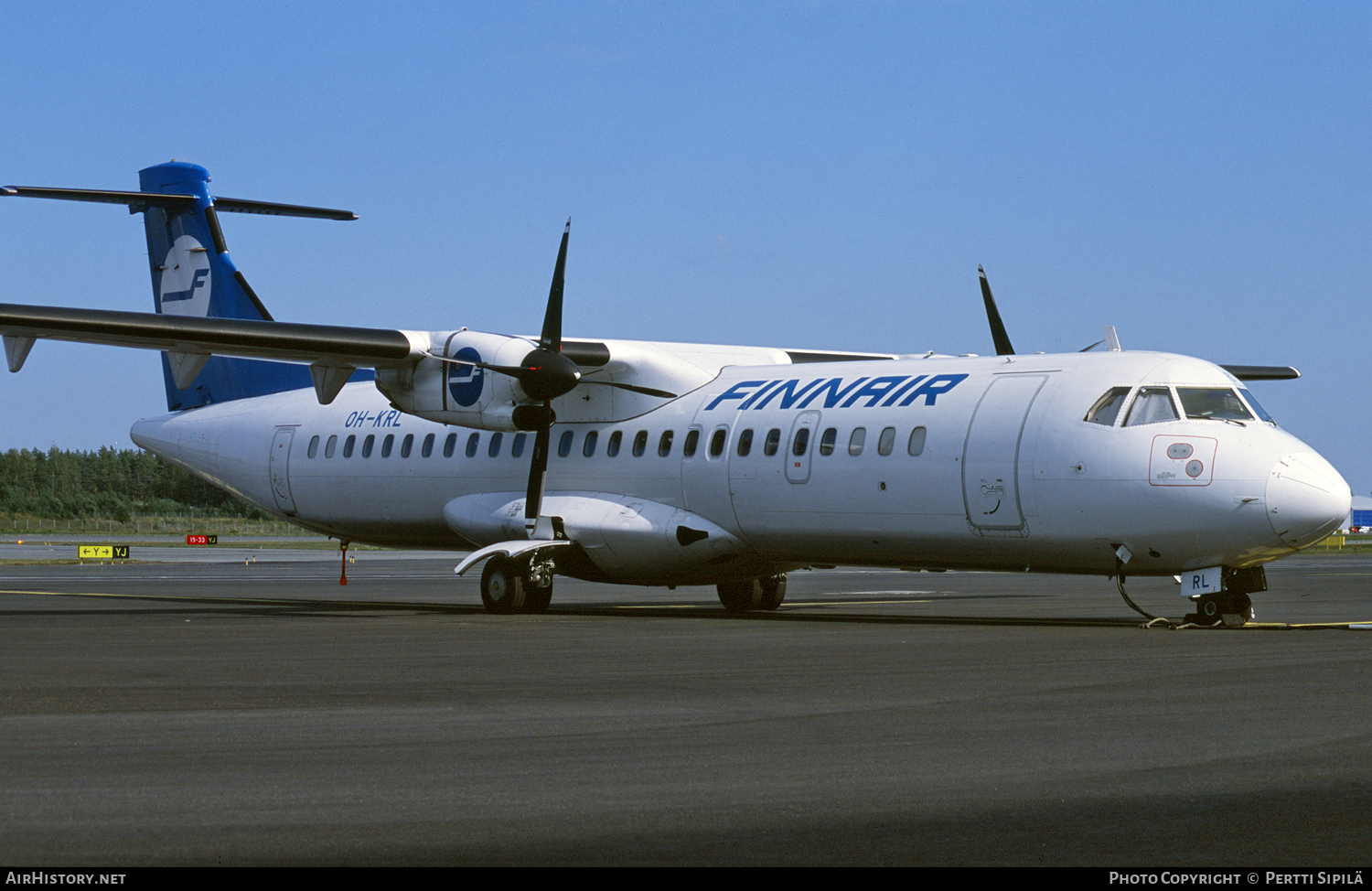 Aircraft Photo of OH-KRL | ATR ATR-72-201 | Finnair | AirHistory.net