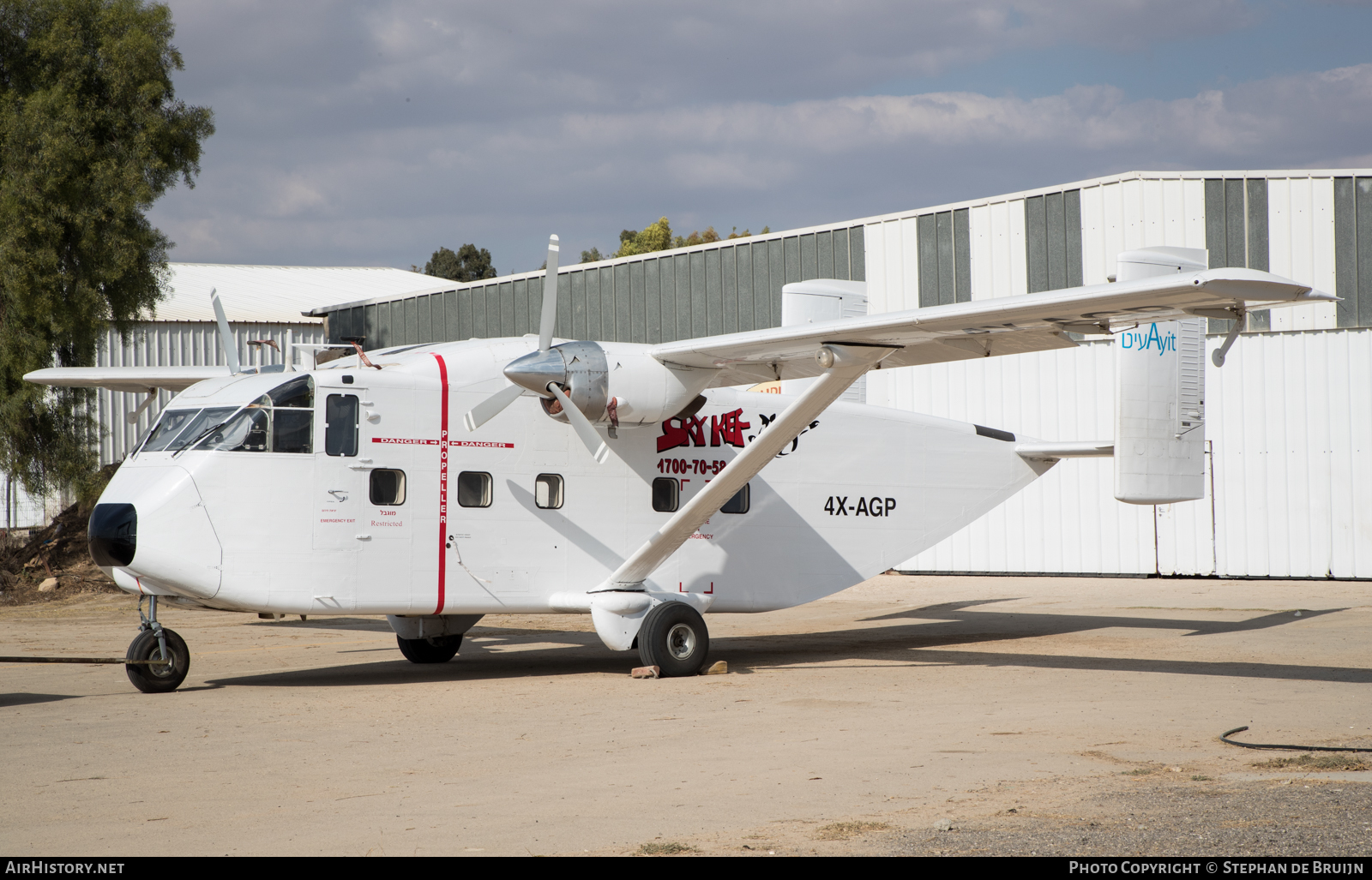 Aircraft Photo of 4X-AGP | Short SC-7 Skyvan 3-100 | Sky Kef | AirHistory.net