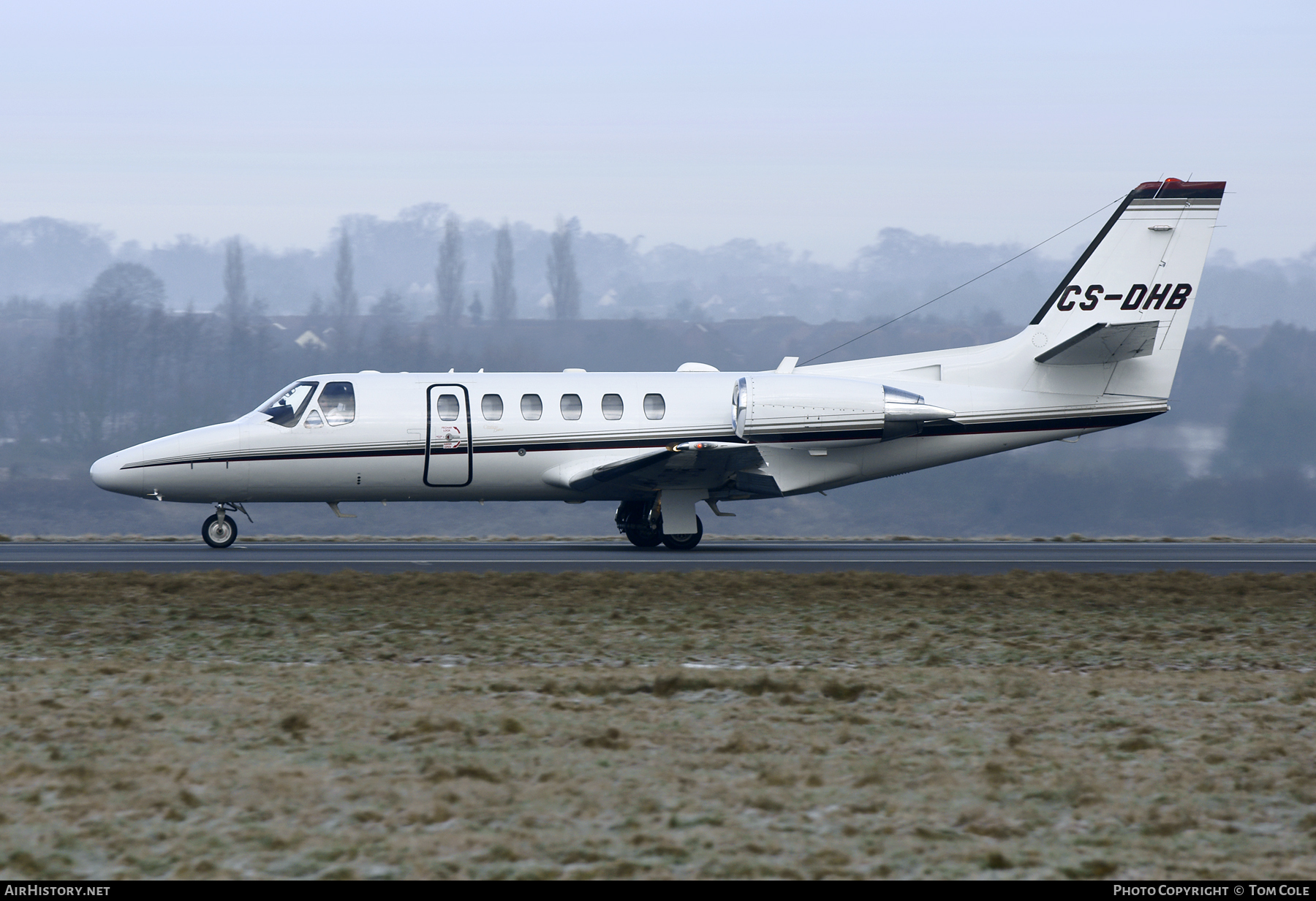 Aircraft Photo of CS-DHB | Cessna 550B Citation Bravo | NetJets | AirHistory.net