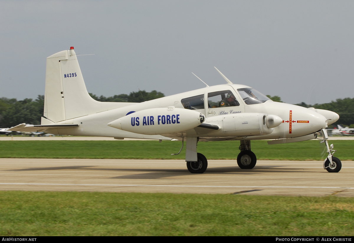 Aircraft Photo of N4395 | Cessna U-3A Blue Canoe (310A/L-27A) | USA - Air Force | AirHistory.net #120630