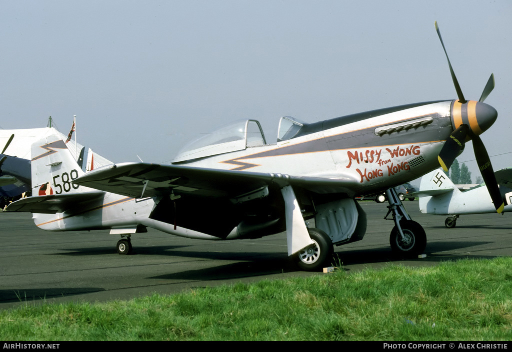 Aircraft Photo of G-HAEC | Commonwealth CA-18 Mustang 22 (P-51D) | USA - Air Force | AirHistory.net #121170