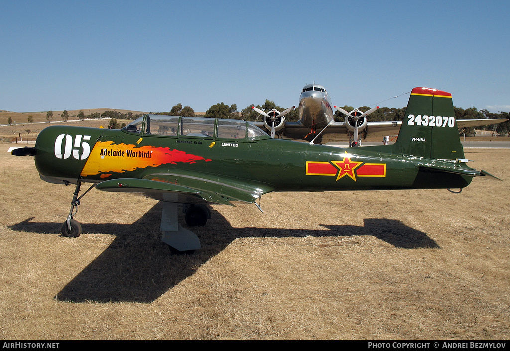 Aircraft Photo of VH-NNJ / 2432070 | Nanchang CJ-6A | Adelaide Warbirds | China - Air Force | AirHistory.net #121199