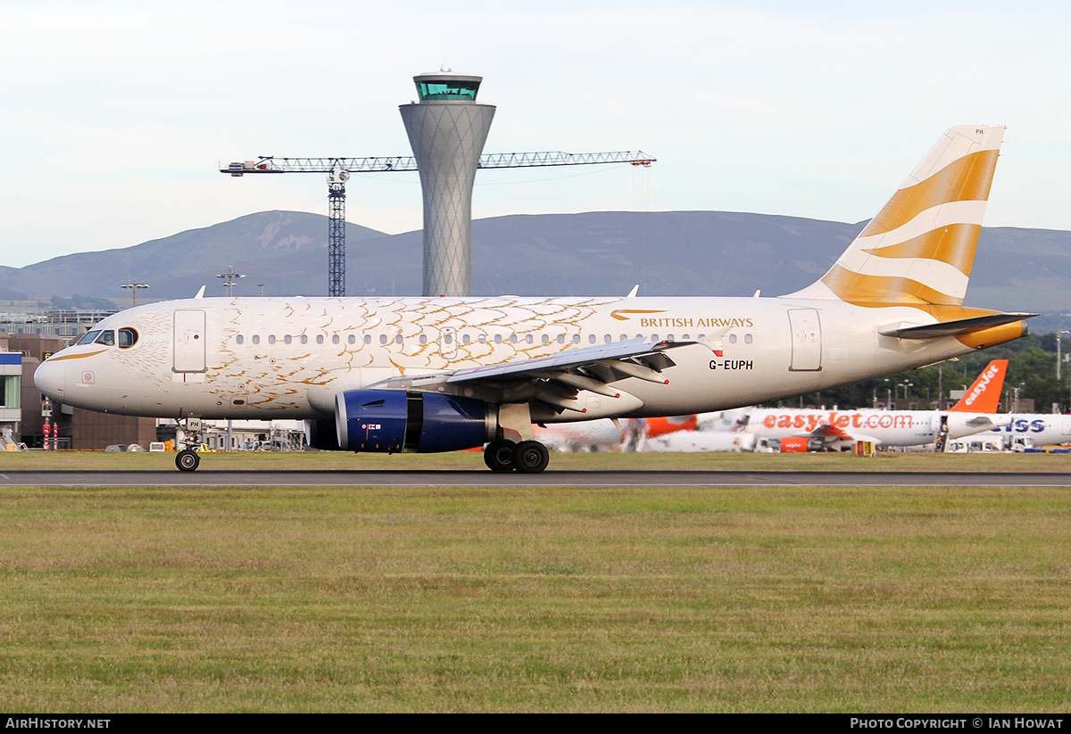 Aircraft Photo of G-EUPH | Airbus A319-131 | British Airways | AirHistory.net #121351