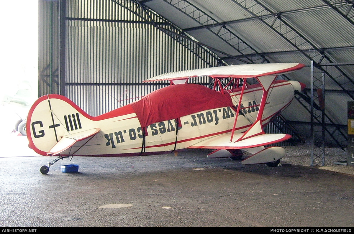 Aircraft Photo of G-IIII | Pitts S-2B Special | AirHistory.net #121531