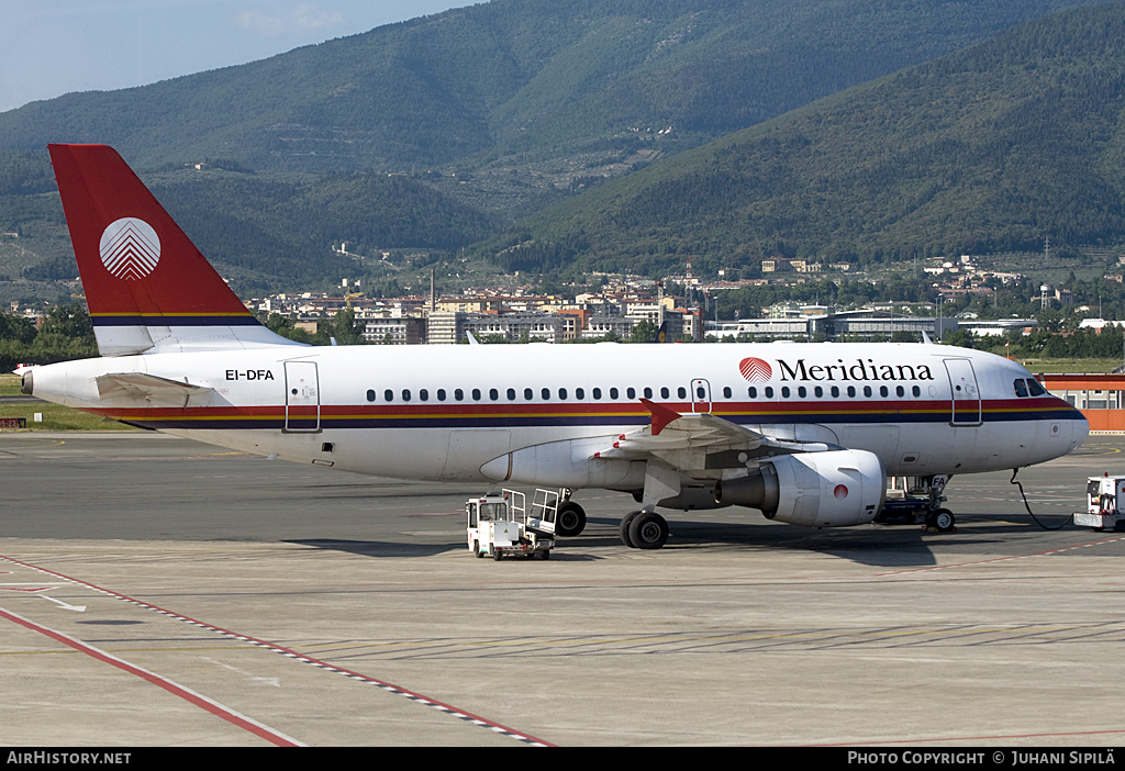 Aircraft Photo of EI-DFA | Airbus A319-112 | Meridiana | AirHistory.net #121565